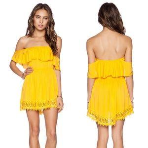 Lovers + Friends Dream Vacay Dress in El Dorado S